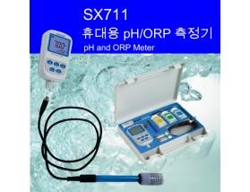 SX711 휴대용 pH ORP 온도 측정기