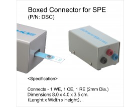 Boxed Connector for Screen-Printed Electrodes